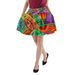 Happy Tribe A Line Pocket Skirt by KirstenStar