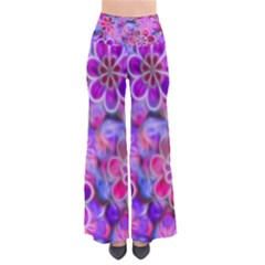 Pretty Floral Painting Pants by KirstenStar