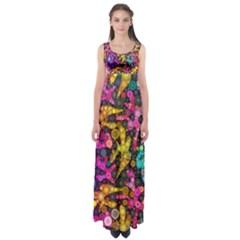 Midnight Dancers Empire Waist Maxi Dress by KirstenStar