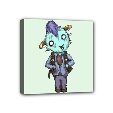 Maurice Mini Canvas 4  x 4  by lvbart