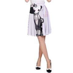 Rocky Horror Plush  A Line Skirt by lvbart