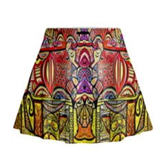 Reflection Mini Flare Skirt by MRTACPANS