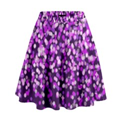 Purple Rain High Waist Skirt by KirstenStar