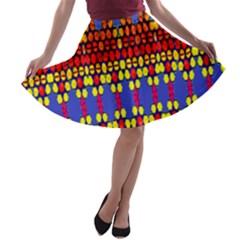 Egypt Star A Line Skater Skirt by MRTACPANS