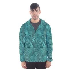 Tropical Hawaiian Print Hooded Wind Breaker (Men) by dflcprintsclothing