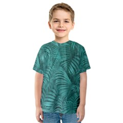 Tropical Hawaiian Print Kid s Sport Mesh Tee by dflcprintsclothing