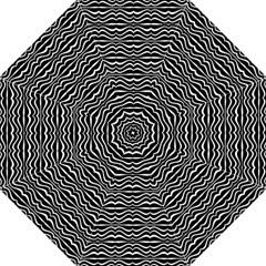 Modern Zebra Pattern Golf Umbrellas by dflcprints