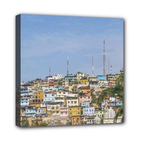 Cerro Santa Ana Guayaquil Ecuador Mini Canvas 8  X 8  by dflcprints