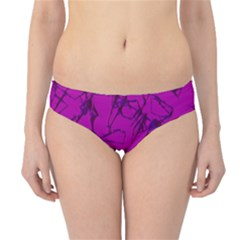 Thorny Abstract,hot Pink Hipster Bikini Bottoms by MoreColorsinLife
