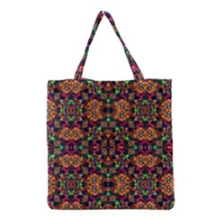 Luxury Boho Baroque Grocery Tote Bag by dflcprints