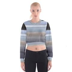 Pompey Beach Women s Cropped Sweatshirt by DeneWestUK