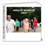 SHULTS - 8x8 Photo Book (20 pages)