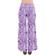 Purple Paisley Doodle Pants by KirstenStar