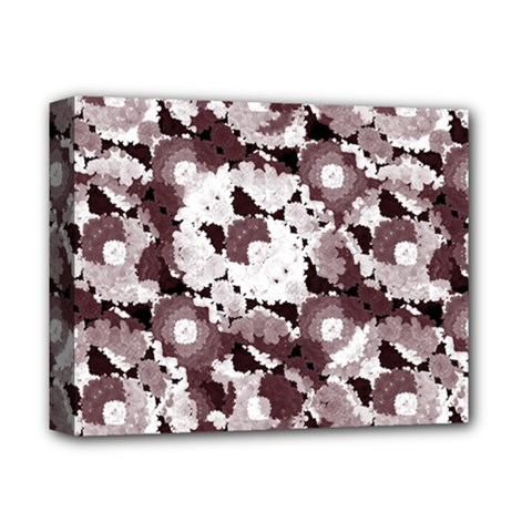 Ornate Modern Floral Deluxe Canvas 14  X 11  by dflcprints