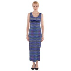 Celtic Cross Fitted Maxi Dress by MRTACPANS