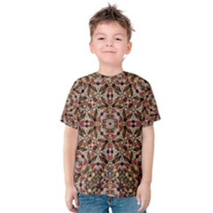 Boho Chic Kid s Cotton Tee by dflcprintsclothing