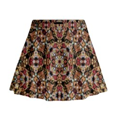 Boho Chic Mini Flare Skirt by dflcprintsclothing