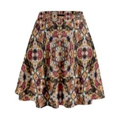 Boho Chic High Waist Skirt by dflcprintsclothing