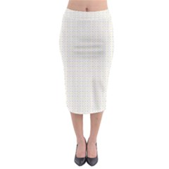 Pastel Pattern Midi Pencil Skirt by FunkyPatterns