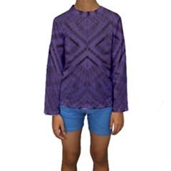 Celestial Atoms Kid s Long Sleeve Swimwear by MRTACPANS