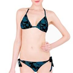 Turquoise Hearts Bikini Set by TRENDYcouture