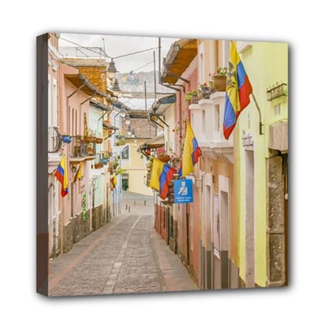 La Ronda Street Quito Ecuador Mini Canvas 8  X 8  by dflcprints