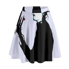 I m Not Finished High Waist Skirt by lvbart
