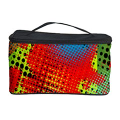 Tiling Lines 5 Cosmetic Storage Case by NotJustshirts