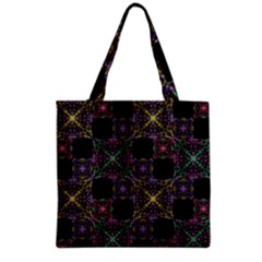 Ornate Boho Patchwork Grocery Tote Bag by dflcprints