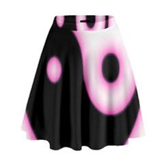 Yin Yang Glow High Waist Skirt