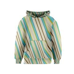 Bent stripes                                               Kid s Pullover Hoodie