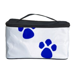 Blue Paws Cosmetic Storage Case by TRENDYcouture