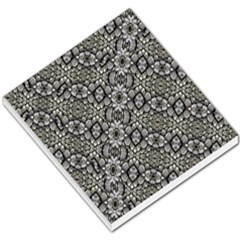 Silver Oriental Ornate  Small Memo Pads by dflcprints