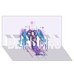 Dirty Wings Best Bro 3d Greeting Card (8x4)  by lvbart