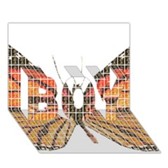 Butterfly Boy 3d Greeting Card (7x5) by cocksoupart