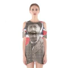 Winston Churchill Cutout Shoulder Dress