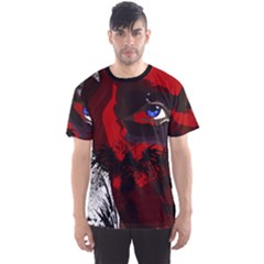 Eagle Face Men s Sport Mesh Tee by DryInk