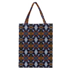 Stones Pattern Classic Tote Bag by Costasonlineshop