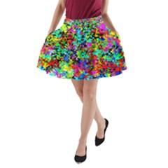 City Night22 A Line Pocket Skirt by BIBILOVER