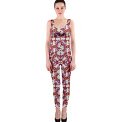 Boho Check Onepiece Catsuit by dflcprintsclothing