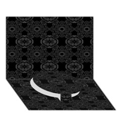 Powder Magic Circle Bottom 3d Greeting Card (7x5)  by MRTACPANS