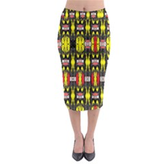 Vacs Sin Eight One Midi Pencil Skirt by MRTACPANS
