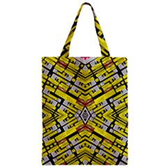 SELECT ACCINE Zipper Classic Tote Bag by MRTACPANS