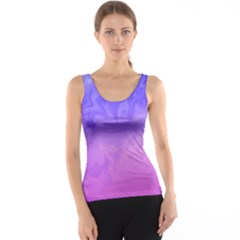 Ombre Purple Pink Tank Top by BrightVibesDesign