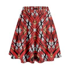 FREE MIND High Waist Skirt