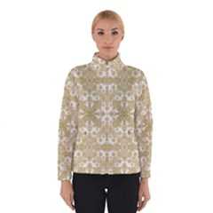 Golden Floral Boho Chic Winterwear by dflcprintsclothing