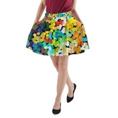 Chrysler11 A Line Pocket Skirt by BIBILOVER