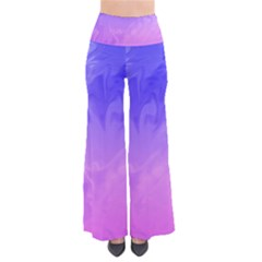Ombre Purple Pink Women s Chic Palazzo Pants by BrightVibesDesign