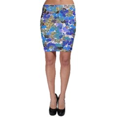 Mixed Brushes                                                           Bodycon Skirt by LalyLauraFLM