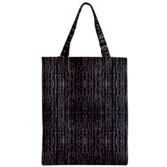 Dark Grunge Texture Zipper Classic Tote Bag by dflcprints